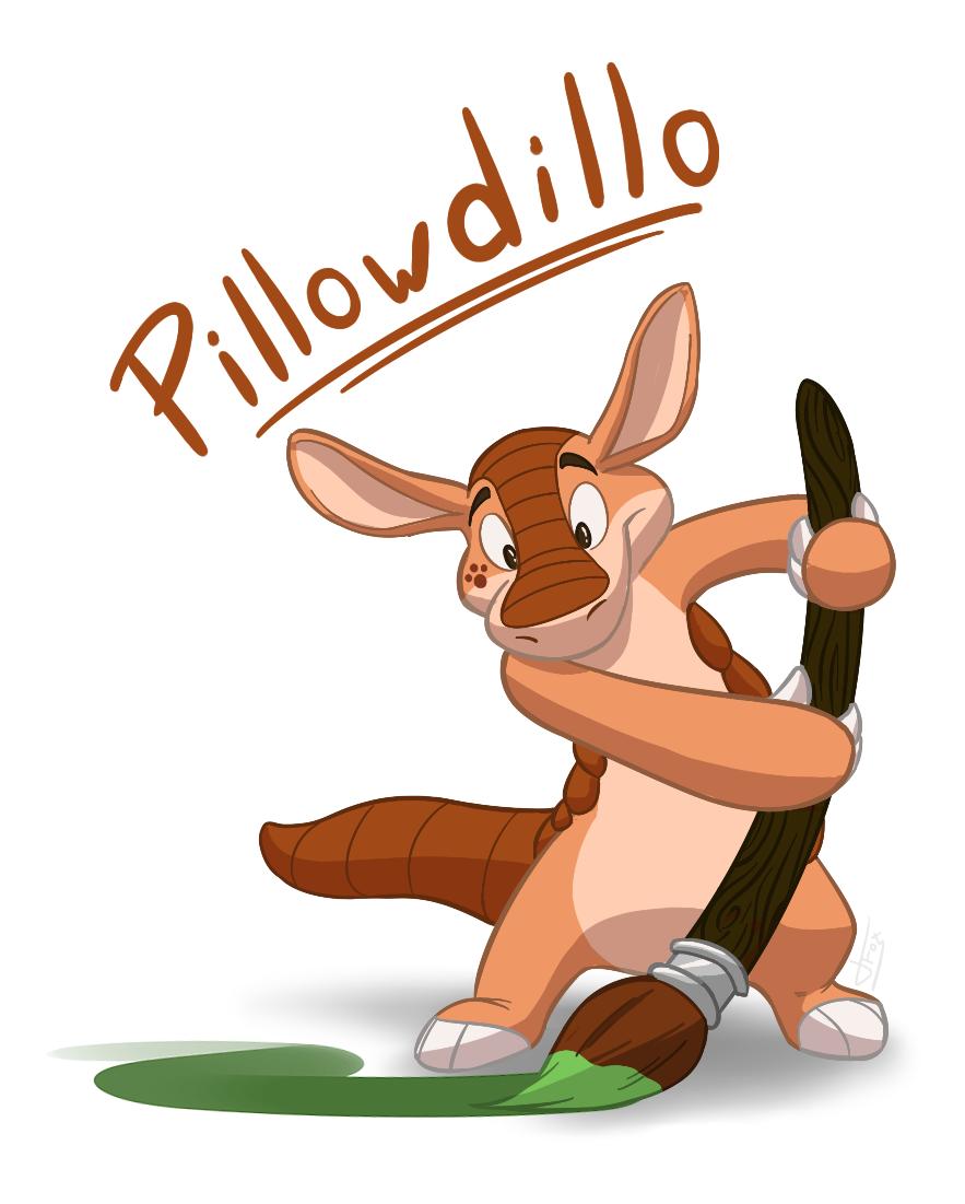 Painter Pillow