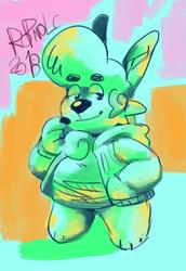 Smol colorful boye