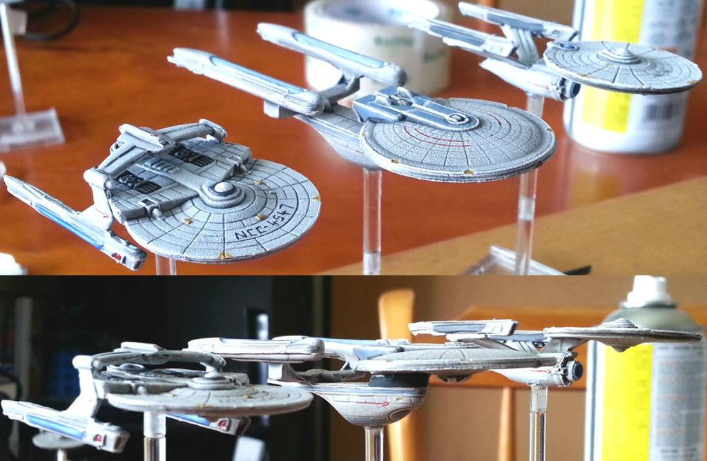 Galleria Starfleet - Attack Wing Repaints
