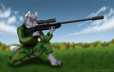 Commission for Ghostwolf Weapons series 4