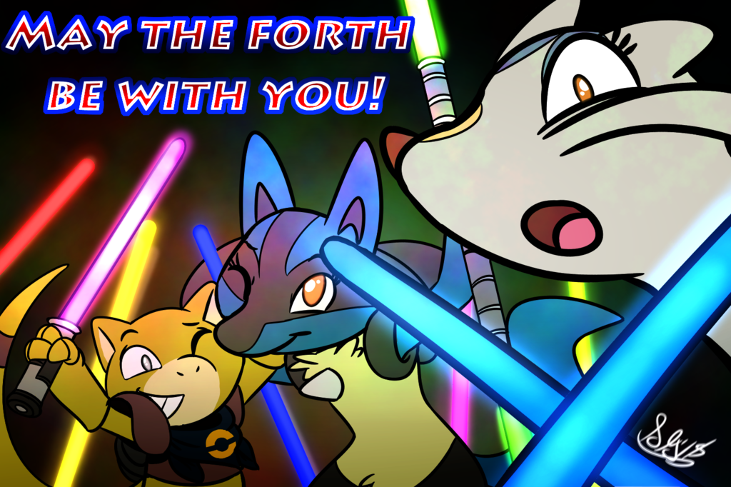 May the 4th be with you 2018