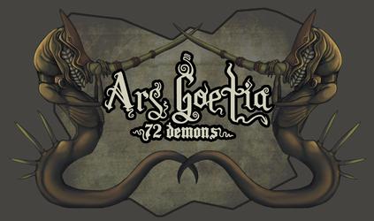 Ars Goetia - 72 Demons Banner