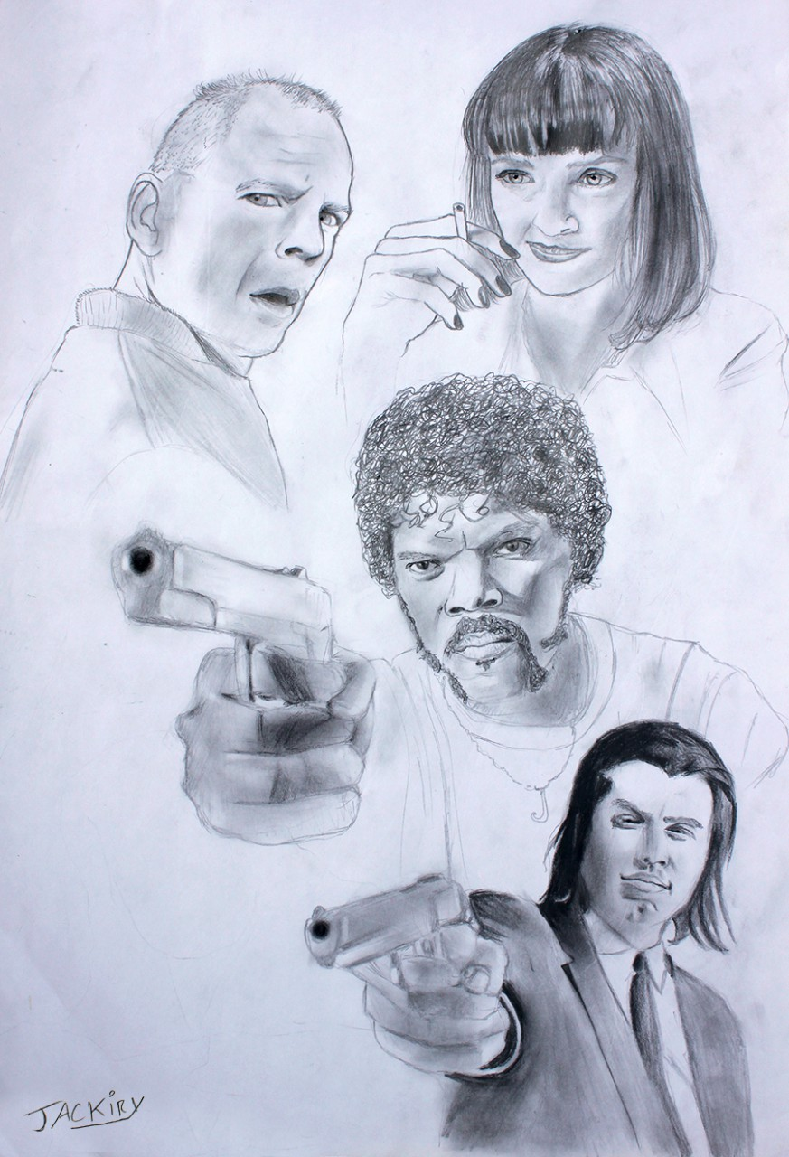 Pulp Fiction 20th anniversary.