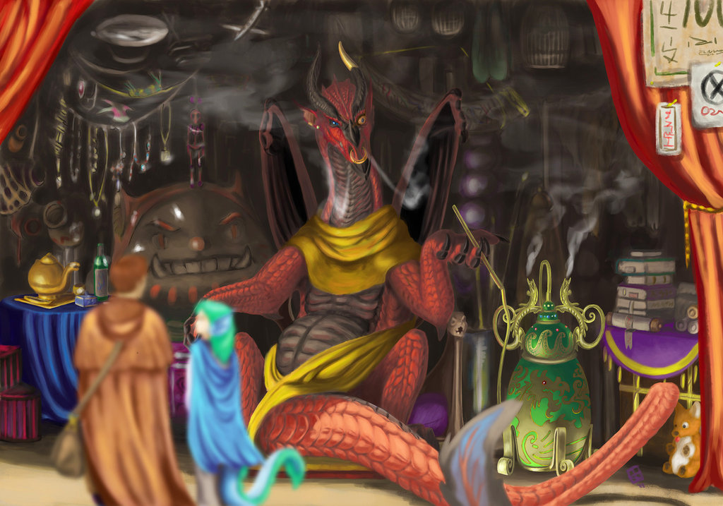 The Draconian Merchant