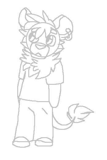 Unnamed unfinished lion character (read description)