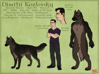 Dimitri Reference Sheet