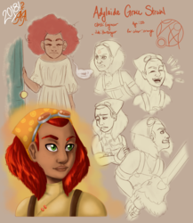 Adylaide Grace Strahl Character Study