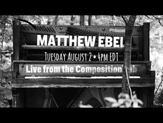 Live from the Composition Lab - August 2, 2016