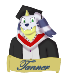 Tanner Graduation Badge (Gift)