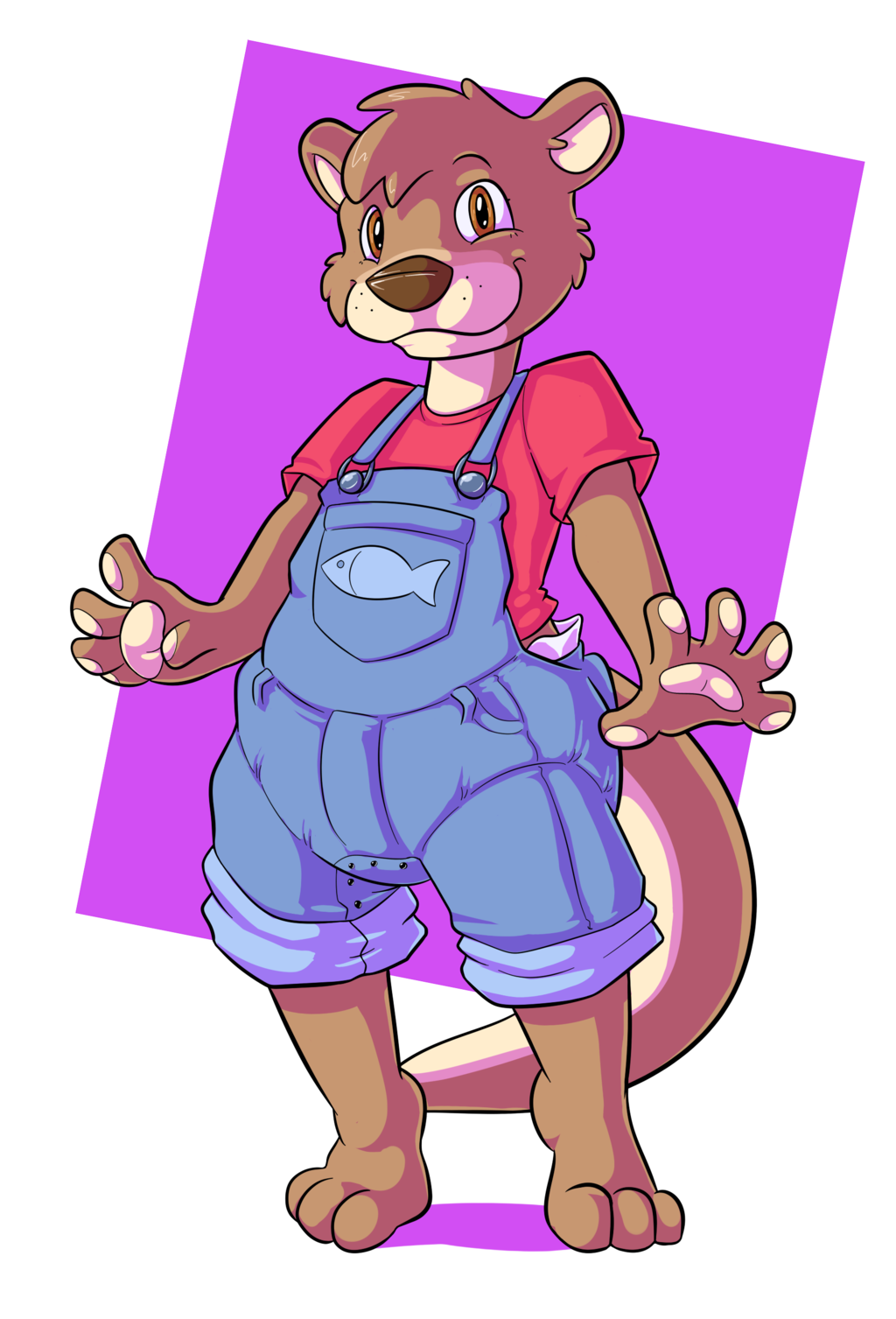 Overall, pretty otter-y