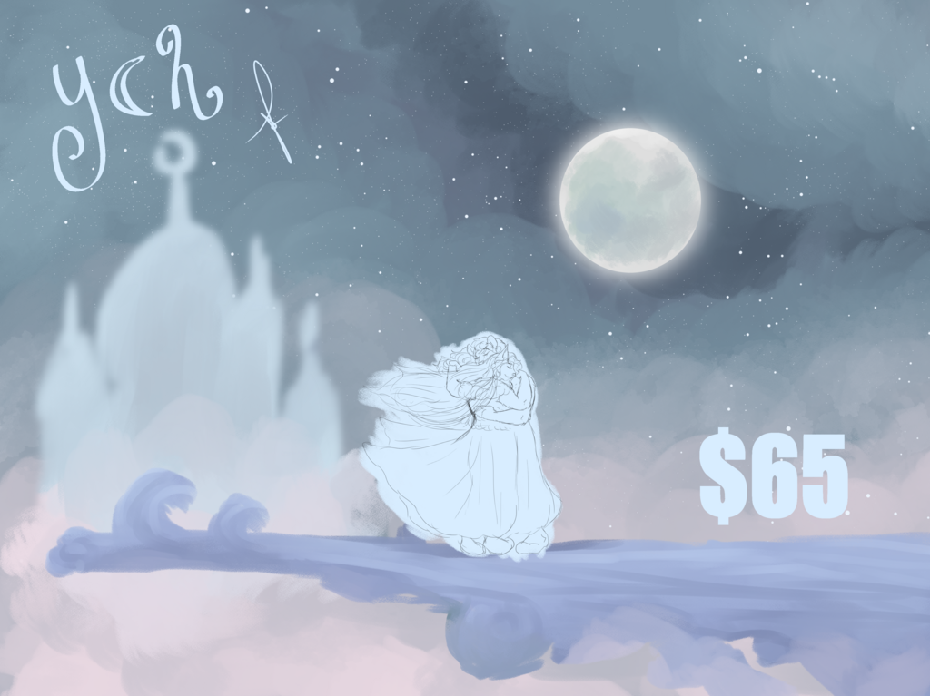 Most recent image: OPEN FIXED YCH - Guided by the Light of the Moon