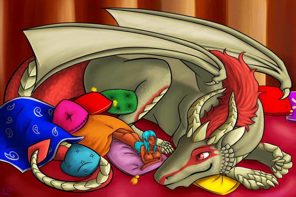 Lady 'n Dragon