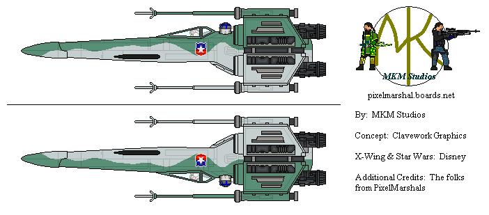 Chilean X-Wing Starfighter