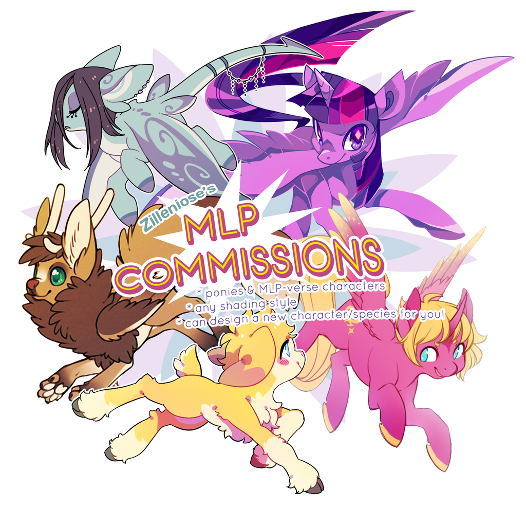 Featured image: My Little Pony commissions!