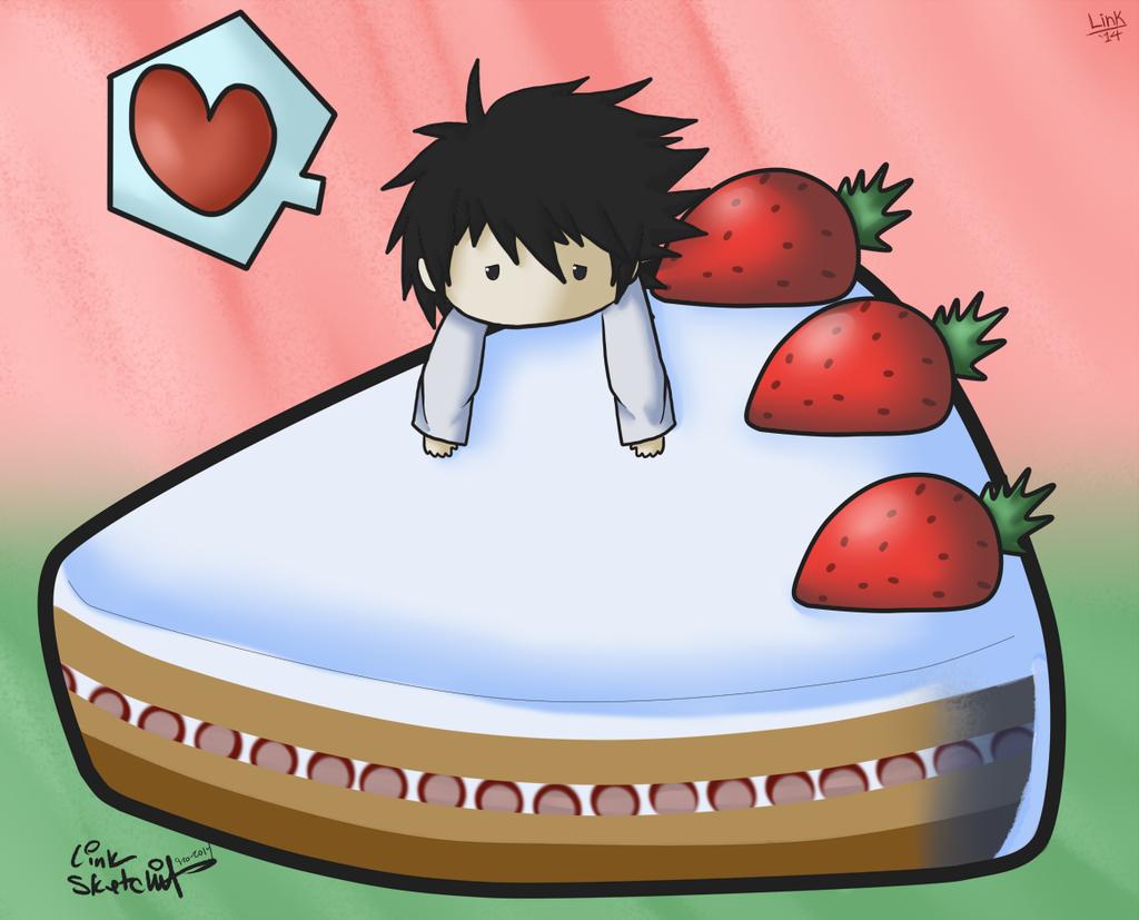 Most recent image: Chibi L & Cake