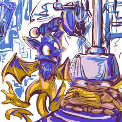 twitter sketch 36: draygo draygon