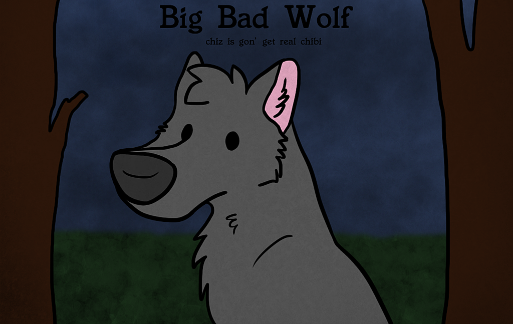 big bad wolf cover doodle