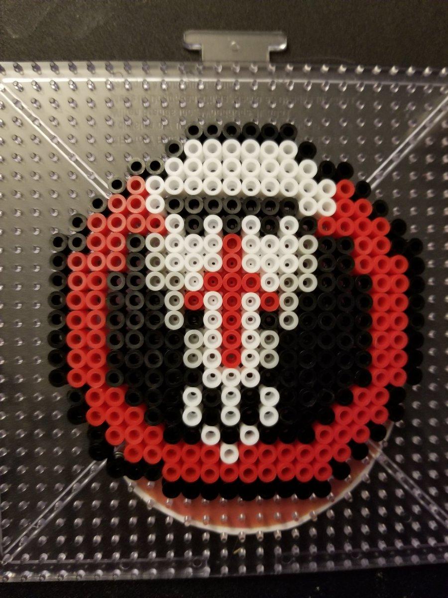 Most recent image: Blackwatch Perler Badge