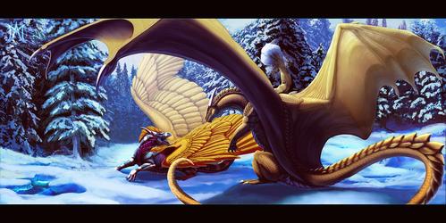[Commission] ''Winter's Romp''
