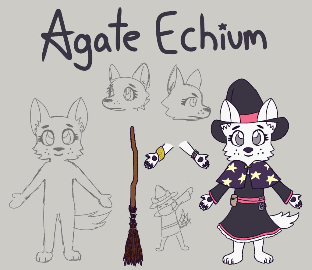 Agate Echium Ref