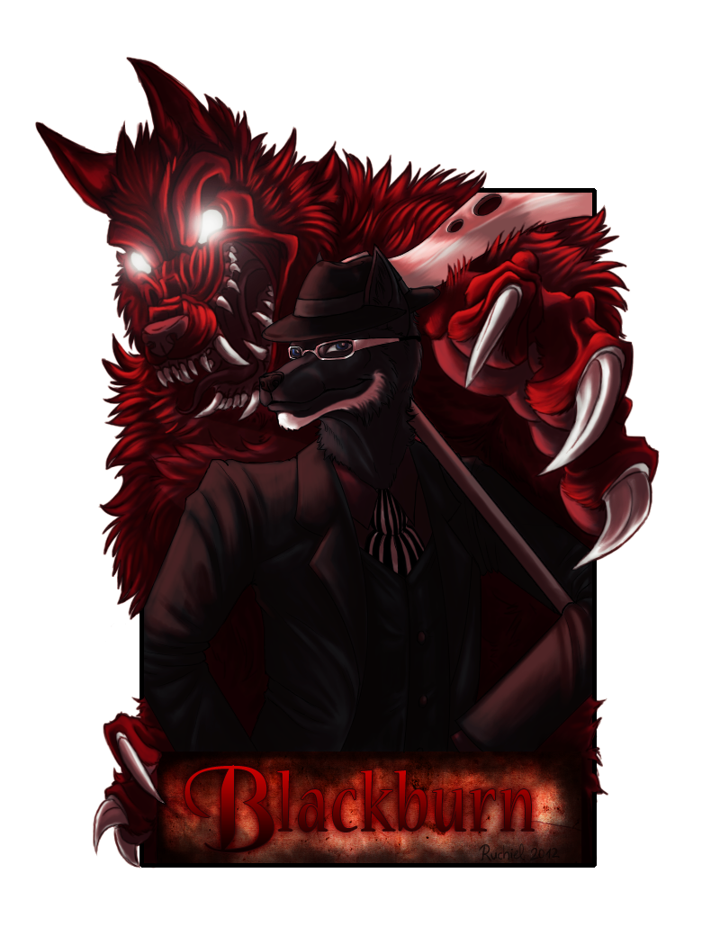 Badge commission for Literary Wolf