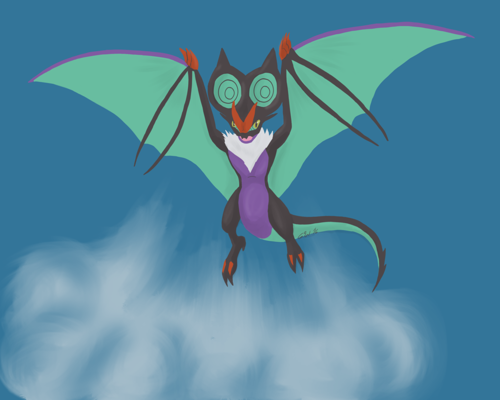 Most recent image: Noivern used Hurricane!