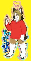 [commission] Badge - Ruska