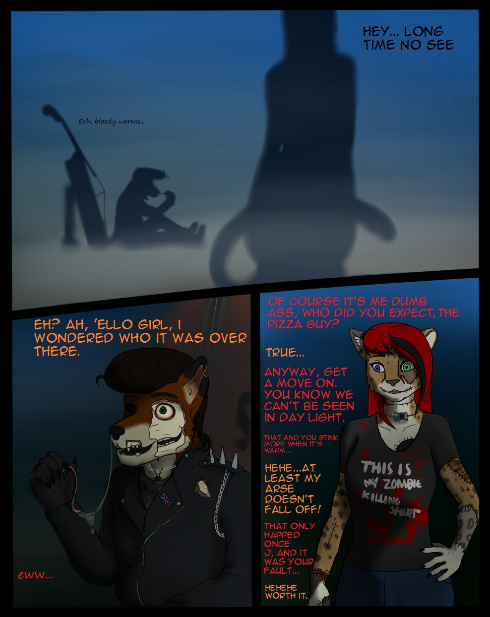[comic] meet the rotten and A.S.P p1