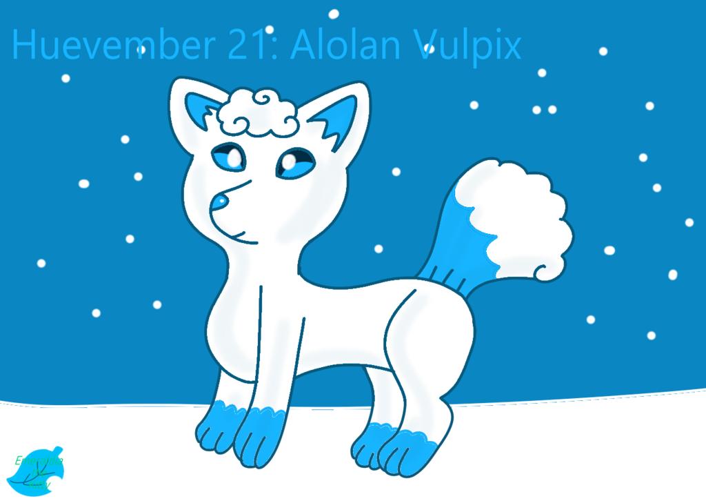 Huevember 21: Alolan Vulpix