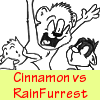 Cinnamon VS RainFurrest -COMIC-