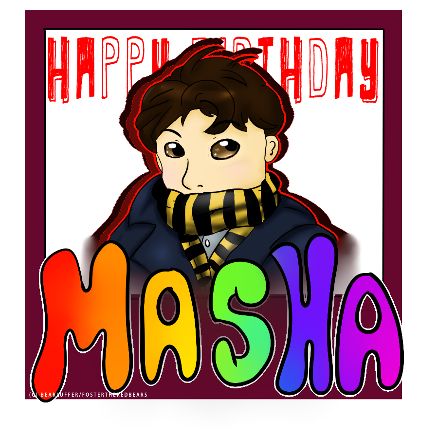 Most recent image: Happy Birthday Masha!