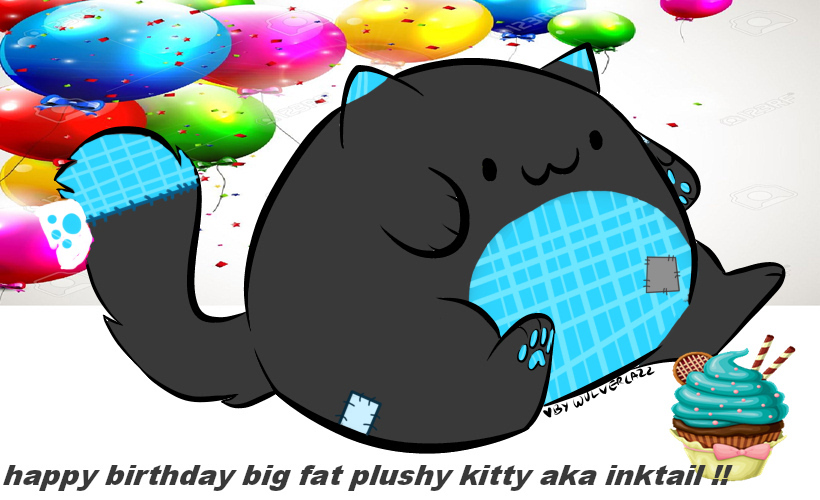 INK TAIL BIRTHDAY GIF