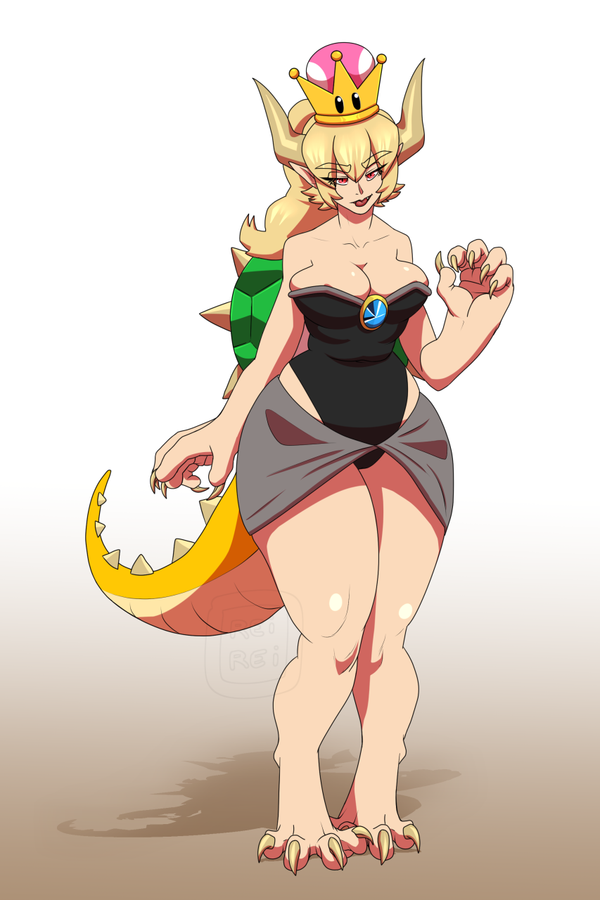 ALL ABOARD THE BOWSETTE TRAIN