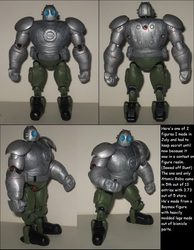 Wakeangel2K1 custom: Atomic Robo