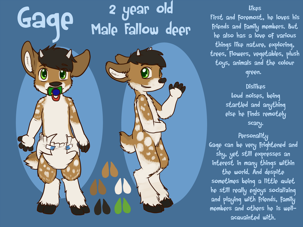 Fawn Reference Sheet