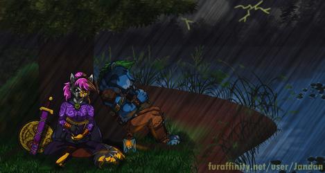 A Stillness in the Rain