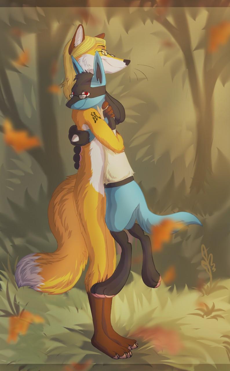Foxy loves the Luu <3