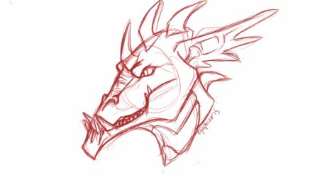 Dragonish Head