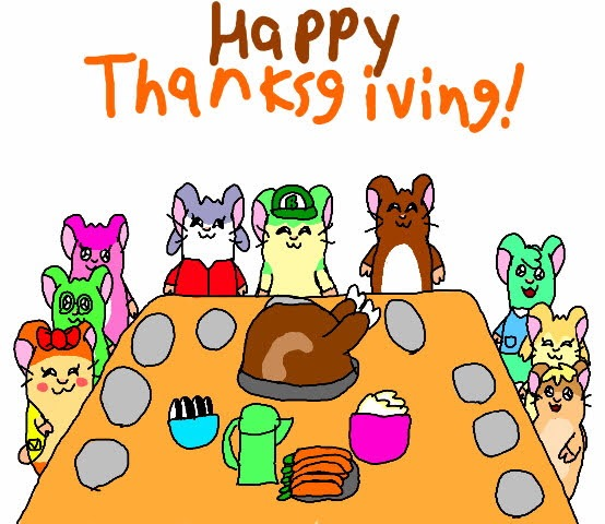 Most recent image: Happy Thanksgiving From the Hamster Family!