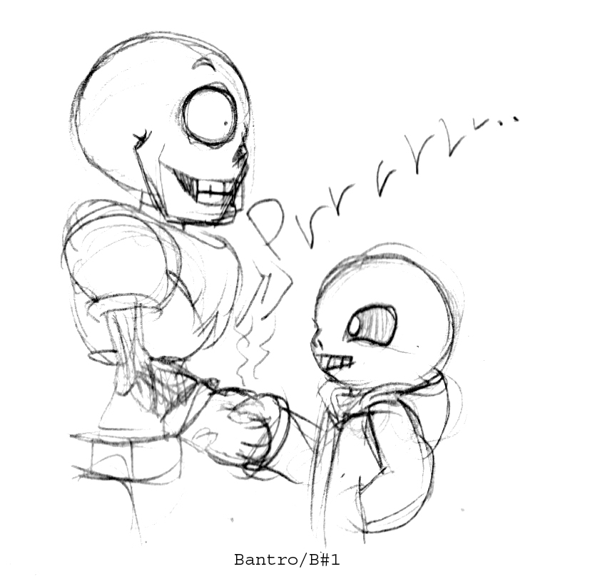 Sans meet Papyrus