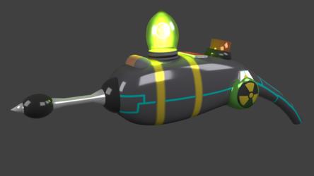 Cookie Gun [3D:1 - 8K Render]