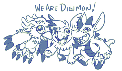 WE ARE DIGIMON
