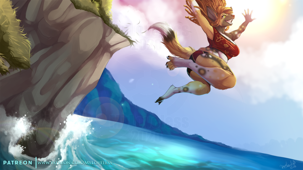 [Patreon] And JUMP!