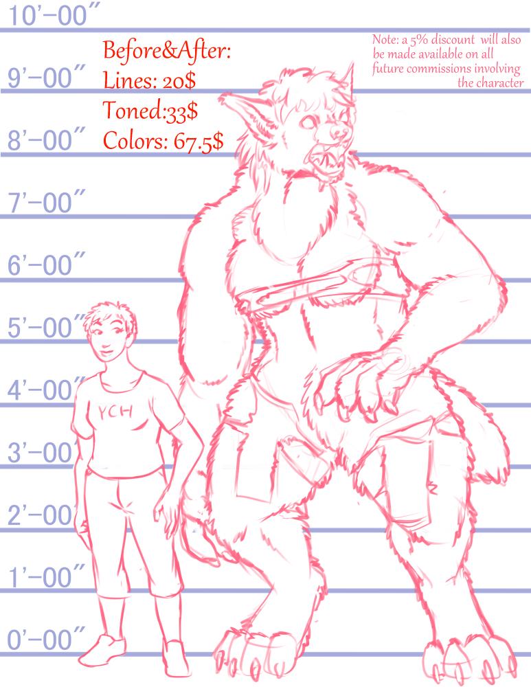 Preposed Werewolves: Lupus Brutus(Female)
