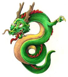 Dragon Tattoo [color]