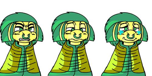 General Artwork - Delta Kamiji (Cloak) Character Portraits.