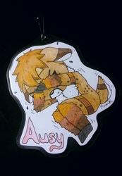 Ausy - Chibi Badge