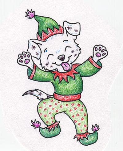 Sketch the Elf