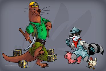 VancouFur Mascots: Rocks n' Rails