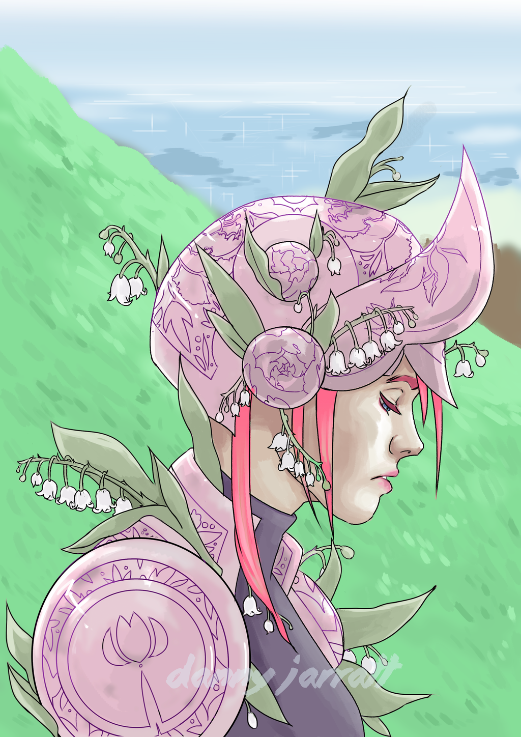 Most recent image: Flower Knight